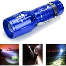 Ultrafire 2200 Lumens CREE XM-L T6 LED Flashlight High Power Torch light Zoom