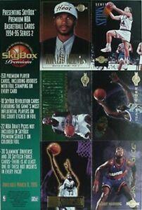 1994-95 SKY BOX BASKETBALL PROMO (ROBINSON, MASHBURN, RIDER, SKILES, MANNIING +