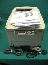 Oki C3200 Color Workgroup Laser Printer + Toner + Manuals; Guaranteed