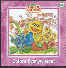 SESAME STREET Elmo's Learning Adventure {Colors Everywhere!} #36 LN