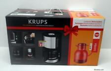 Krups KM3210 + Isolierkanne Emsa Samba Filter-Kaffeemaschine