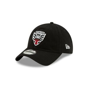 D.C. United New Era 9TWENTY MLS Adjustable Strapback Hat Dad Cap Soccer 920