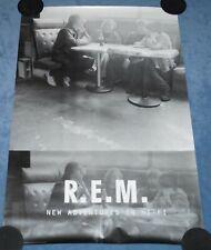 """Vintage """" R.E.M. : New Adventures In Hi-Fi """" Original Us Promo Poster (1996)"""