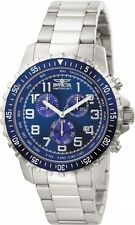 Invicta Specialty II Collection Chronograph Blue Dial Mens Watch 6621