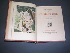 Illustré moderne A. Samain Chariot d'or Rombaldi 1942 Vélin ill. Couleurs Leroy