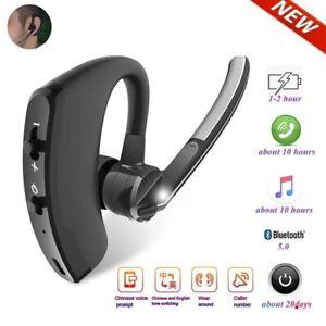 Wireless Bluetooth 5.0 Earbud Headset Hands Free Headphone for iPhone Samsung LG