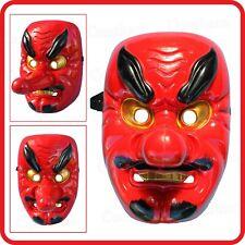 TENGU HEAVENLY DOG MASK-SAMURAI-DEMON-NOH-KABUKI-JAPANESE-HARBINGER-BUDDHIST
