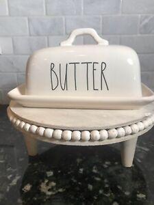 Rae Dunn BUTTER Dish ~ Farmhouse New