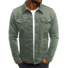 2019 Men's Denim Jacket Fashion Jeans Jackets Slim Fit Casual  Vintage Men Jean