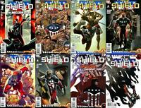The Shield #1-8 (2009-2010) DC Comics - 8 Comics