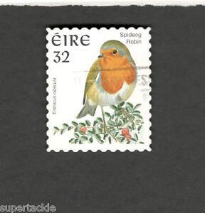 1997 Ireland SCOTT #1054  SPIDEOG ROBIN  Θ used stamp