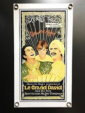 "Le Grand David Poster (13X23"") From The World Record Setting Magic Show"