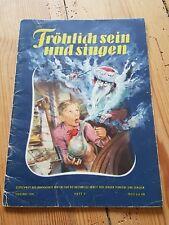 Frösi Heft 1 Jahrgang 1955 Fröhlich sein und singen