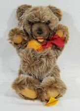 "LM VINTAGE 1980 Steiff 0305/40 15"" Zotty Teddy Bear Jointed Tipped Mohair NEW"