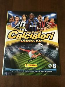 Album Calciatori Panini 2009-10 vuoto senza figurine