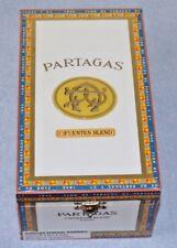 Partagas Cifuentes Blend Empty Wood Cigar Box White 4 1/2 x 7 3/4 x 3 3/8