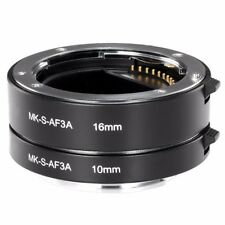 Meike Metal Extension Tube Close Shot Adapter Lens AF for Sony NEX E-Mount