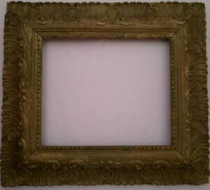 Antique Baroque Gilded Frame size 11.5 X 9.5 inches in perfect condition
