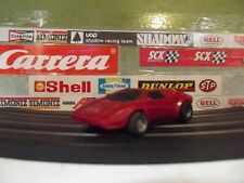 TYCO RED LAMBORGHINI COUNTACH WITH 440-X2 WIDE CHASSIS (VINTAGE)
