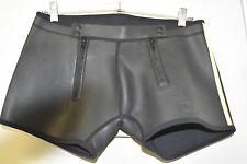 Mr S Leather Neoprene Shorts Gay Int Sz Lrg FREE SHIP Iml Folsom NWOT