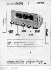 Bogen R300 Tuner-Sams Photofact Tech Docs