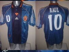 Spain Espana RAUL Shirt Jersey Football Soccer Adidas Adult Real Madrid 1998 XL