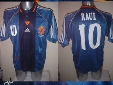Spain Espana RAUL Shirt Jersey Football Soccer Adidas Adult Real Madrid 1998 L