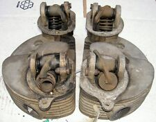 1953-59 AJS Matchless G9 500cc pair cylinder heads M