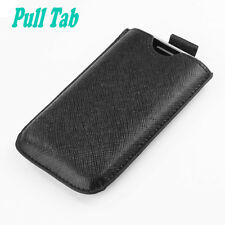 For Samsung Galaxy Ace, S5830 Leather Case Cover Pouch Skin with PULL TAB
