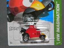 HW HOT WHEELS 2012 HW IMAGINATION #47/247 ANGRY BIRD'S RED BIRD HOTWHEELS VHTF