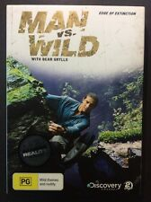 Man Vs Wild - Edge Of Extinction (DVD, 2010, 2-Disc Set)