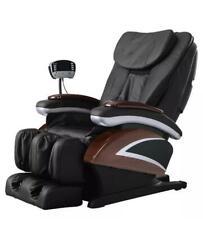 New Electric Full Body Shiatsu Massage Chair Recliner Heat Stretched Foot 07C