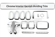 Interior Chrome Garnish Molding Trim 14Pcs K-287 for HYUNDAI 2003-2004 EF Sonata