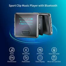 Wiwoo 16GB Bluetooth MP3 Player Clip for Running Sports Watch MP3 Player NEW