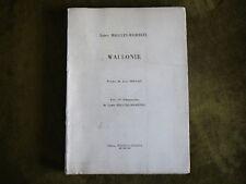 Laure Malcles-Masereel WALLONIE Numéroté 18 Lithographies