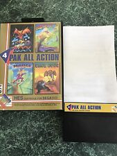 "4 Pak All Action - Sega Master System SMS HES  "" Instructions Included Rare """