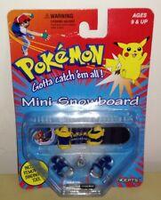 Mini Snowbord Pokemon gotta catch em all pokemon go action figure toys pikachu