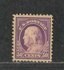 US Sc#517 M/H/F-VF+, Cv. $45