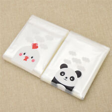 10x10cm Self-adhesive Cute Panda Chicks Bags Packaging Plastic for Gift Wrapping