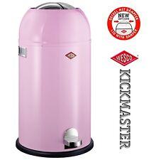 Wesco Kickmaster 33L Pink Rosa Treteimer Mülleimer Abfalleimer Soft Close