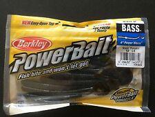 "Berkley,Power Bait,Rib Worm,4/"",15//Pkg,Firecracker//Chart,#PBBRW4-FCH"