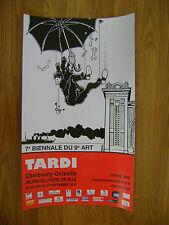 Affiche TARDI 7è biennale du 9e Art - Cherbourg