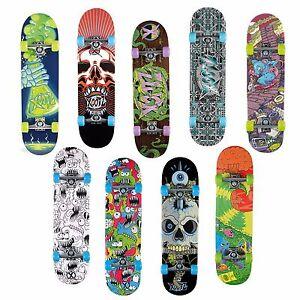 "XOOTZ 31"" Complete Skateboard Double Kick Maple Street Trick Fun Gift Kids"