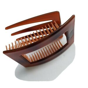 Vintage Lucite Hair Comb 2 in 1 Folded Purses Comb