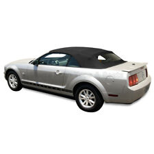 Mustang Convertible Top (05-14 All Models) Black Sailcloth with Glass Window
