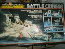Vintage 1977 MEGO Micronaunts BATTLE CRUISER in Box, with Hydro and Photon Sled