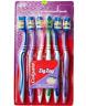 Colgate ZigZag Toothbrush - SOFT zig zag bristles - 6 PC PACK