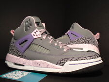 2012 Nike Air JORDAN SPIZIKE GS COOL GREY PINK PURPLE EARTH WHITE CEMENT 7Y 7