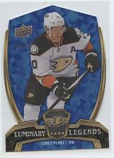 COREY PERRY 2015-16 UPPER DECK UD OVERTIME LUMINARY LEGENDS BLUE PARALLEL /25