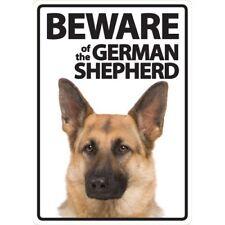 Beware of the German Shepherd Plastic Sign